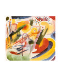 Without Title Plakat af Wassily Kandinsky