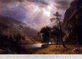 Half Dome, Yosemite-Tal Kunst von Albert Bierstadt