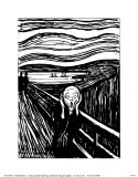 Scream Poster by Edvard Munch