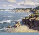 Coastal Afternoon Poster by Scott Christensen