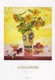 Sonnenblumen Kunstdrucke von Del Gish