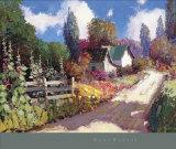 Passeggiata d'estate Stampe di Kent Wallis