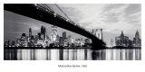 New York, Manhattan Skyline, 1965 Affischer