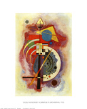 Hommage to Grohmann Print by Wassily Kandinsky