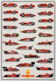 Cars Ferrari Formula I Plakater