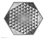 Verbum Posters av M. C. Escher
