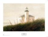 Fog at Bandon (detail) Posters av Thomas William Jones