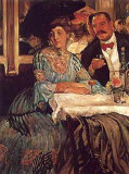 At Mouquin's, 1905 Posters af William Glackens