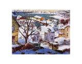Port en hiver Posters par Henry Gasser