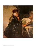 Rabbi Plakater af  Rembrandt van Rijn
