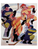 Hockey Players Prints by Ernst Ludwig Kirchner