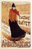Eugenie Buffet Prints by Lucien Metivet