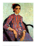 La Mousme Plakat av Vincent van Gogh