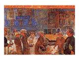 Place Clichy Pósters por Pierre Bonnard
