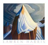 Mount Lefroy Posters af Lawren S. Harris