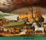Noahs ark Plakater av Edward Hicks