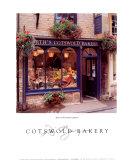 Cotswold Bakery Poster von Dennis Barloga