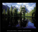 Sierra Reflections Prints by William Neill