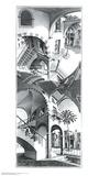 Korkea ja matala Posters tekijänä M. C. Escher