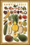 Tropische exotische Früchte Poster von Norman Van Aken