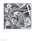Relativitet Posters av M. C. Escher