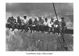 Lunch Atop a Skyscraper NYC Affiches par Charles C. Ebbets