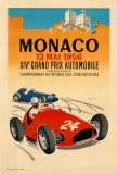 Monaco Grand Prix, 1956 Poster