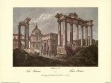 The Roman Forum Prints by Alessandro Antonelli