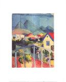 Saint-German, Near Tunis Prints by Auguste Macke