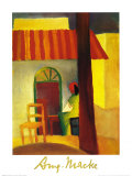 Turkish Café Prints by Auguste Macke