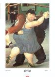 Tänzer Kunstdrucke von Fernando Botero