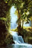 Zaragoza-Wasserfälle Poster