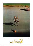 Le Devenir Geologique Julisteet tekijänä Salvador Dalí
