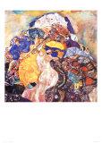 Cradle Posters af Gustav Klimt