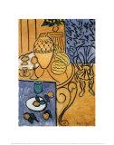 Intérieur en jaune et bleu, 1946 Posters par Henri Matisse