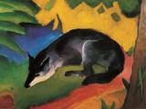 Fox, c.1913 Posters af Franz Marc