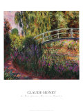 Pont Japonais-Bassin aux Nympheas Julisteet tekijänä Claude Monet