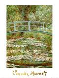 Japanilainen silta Julisteet tekijänä Claude Monet