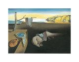 De volharding der Herinnering Print van Salvador Dalí