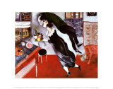 Bursdag Posters av Marc Chagall