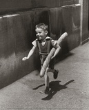 Petit Parisien Print by Willy Ronis