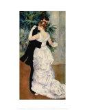 Dance in the City, 1883 Prints by Pierre-Auguste Renoir