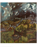 View of Toledo, 1597 Julisteet tekijänä  El Greco