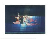 Sindbad, der Seefahrer Kunst von Paul Klee