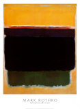 Untitled, 1949 Posters van Mark Rothko