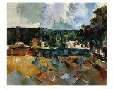 Paysage Affiches par Paul Cézanne
