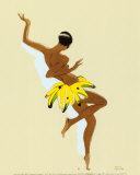 Black Thunder, Josephine Baker Schilderij van Paul Colin