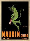 Maurin Quina, ca 1906 Planscher av Leonetto Cappiello