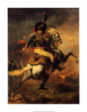 Officer of the Imperial Guard Prints by Théodore Géricault