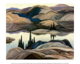 Mirror Lake Poster von Franklin Carmichael